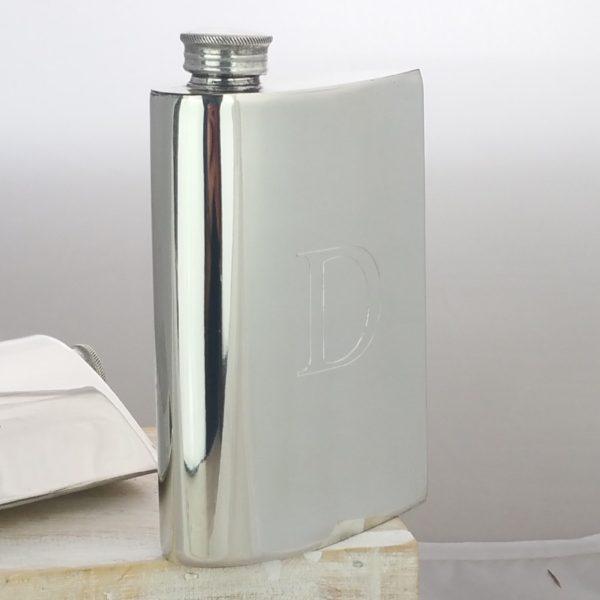 Personalised Aerofoil Hip Flask
