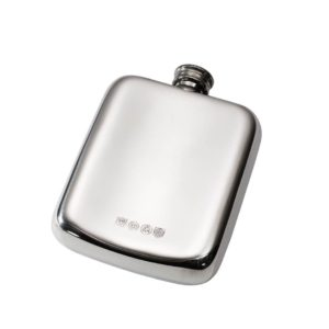Personalised 4 oz Chinese Dragon Pewter Pocket Hip Flask