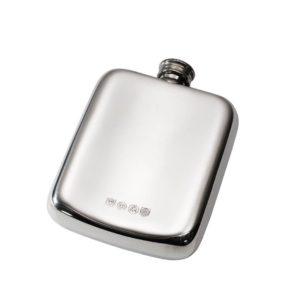 Personalised 4 oz Chinese Dragon Pewter Pocket Hip Flask