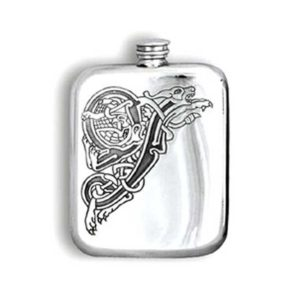 6oz Pictish Engraved Hip Flask with Free Engraving