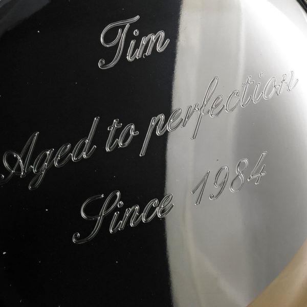 Personalised 21st Birthday Hip Flask