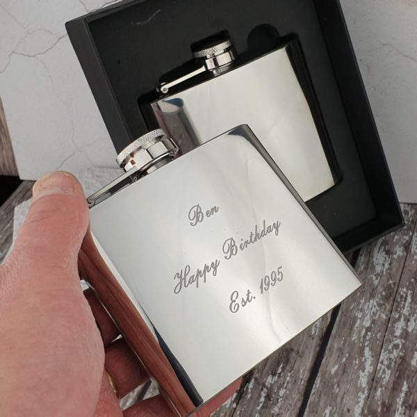 Personalised 5oz Hip Flask