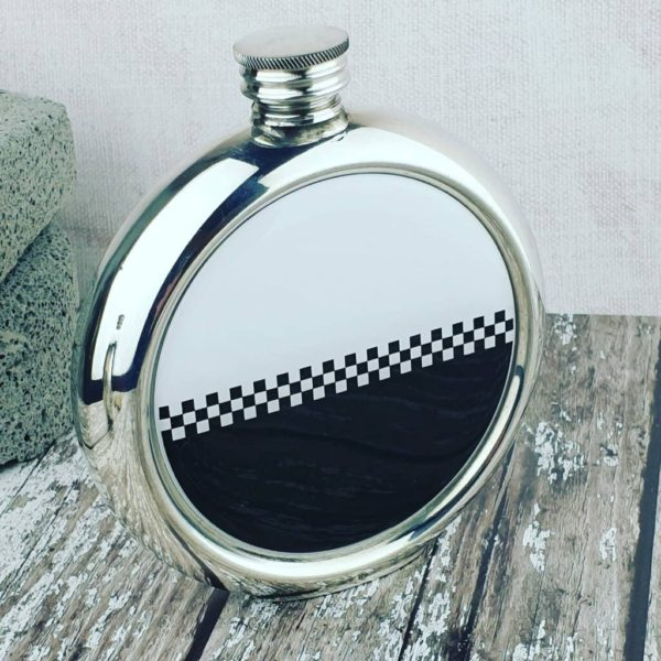 Personalised Ska Skankin Hip Flask